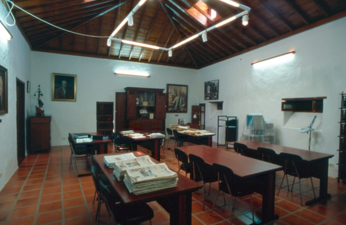 Dependencias del Archivo Municipal -Casa Perdomo