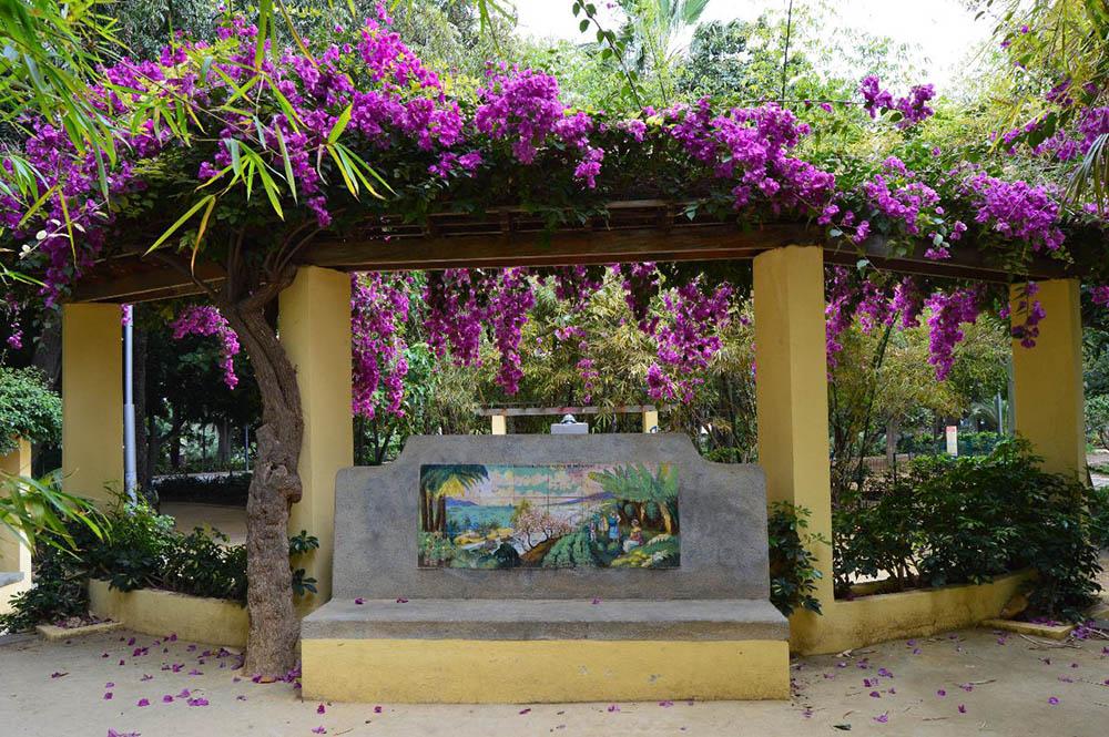 Glorieta monumento al clima parque garc a sanabria - Parques infantiles en santa cruz de tenerife ...